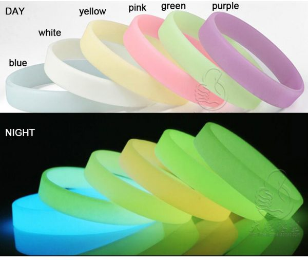 glow-in-dark-silicone-wristbands-custom-rubber-personalised-bracelets-